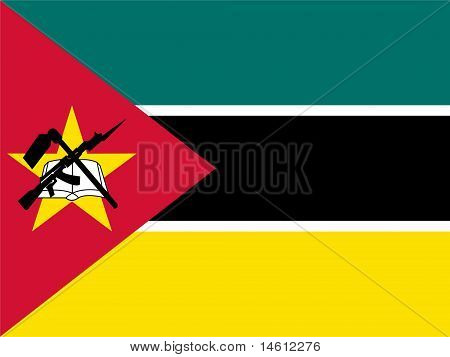 Mozambeque National Flag