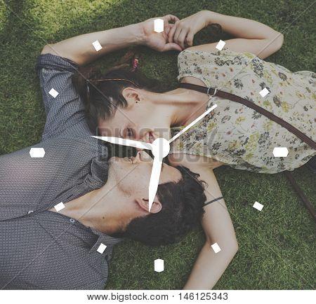 Clock Time Management Timing Punctual Concept