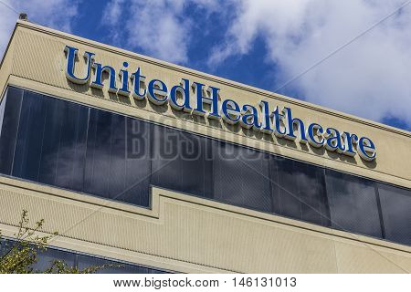Indianapolis - Circa September 2016: UnitedHealthcare Indiana Headquarters. UnitedHealthcare Provides Employer Individual and Family Health Insurance III