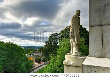 Roger Williams Statue - Prospect Terrace Park