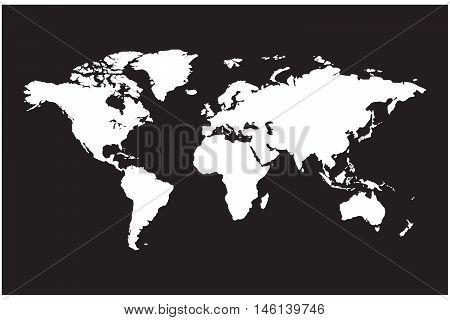 Earth map australia africa eurasia paper europe land