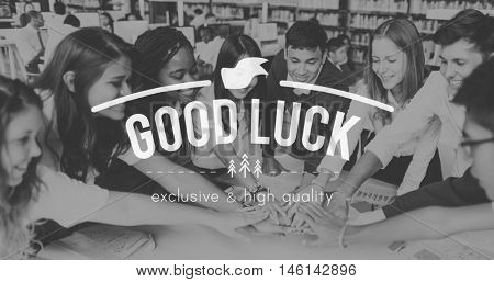 Good Luck Fate Destiny Fortune Prosperity Concept
