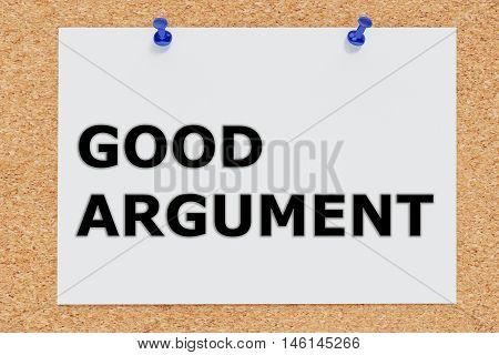 Good Argument Concept