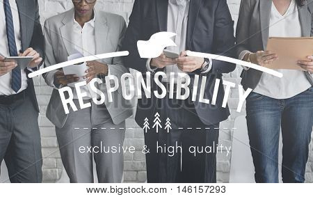 Responsibility Responsible Obligation Authority Reliability Concept