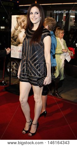 Mary-Louise Parker at the World premiere of 'P.S. I Love You' held at the Grauman's Chinese Theater in Hollywood, USA on December 9, 2007.