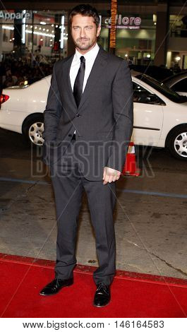 Gerard Butler at the World premiere of 'P.S. I Love You' held at the Grauman's Chinese Theater in Hollywood, USA on December 9, 2007.