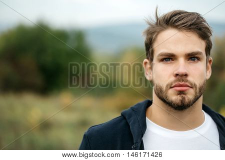 Young Bearded Sexy Guy