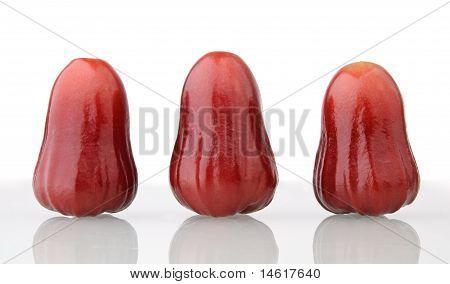 Three Rose Apples