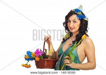Nice Spring Girl