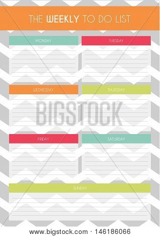Weekly To Do List Template Love Love Love This And U Can Print It