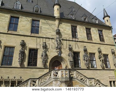 Town Hall of the Peace of Westphalia Osnabruck Germany
