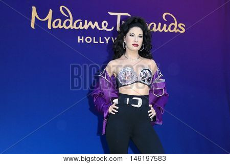 LOS ANGELES - AUG 30:  Selena Quintanilla Wax Figure at the Selena Quintanilla Wax Figure Unveiling at the Madame Tussauds Hollywood on August 30, 2016 in Los Angeles, CA