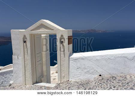 Santorini Island Santorini Island - Archway To Sea