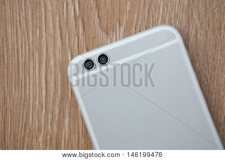 Modern New Smart Phone With Dual Rear Camera