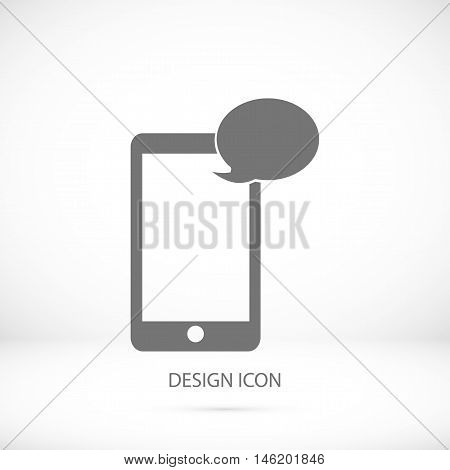Mobile Phone Sms Icon
