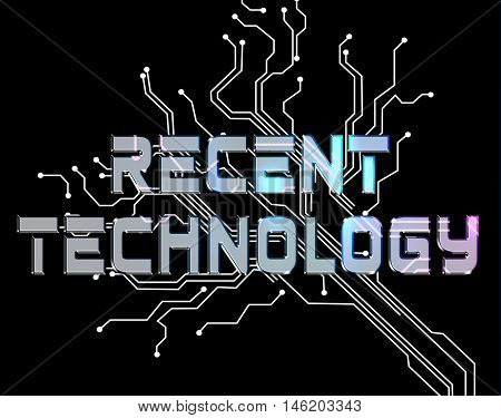 Recent Technology Indicates New Digital Electronic Tech