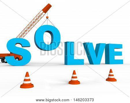 Solve Crane Represent Solving Successful 3D Rendering