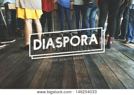 Diaspora Initation Job Fair People Team Concept