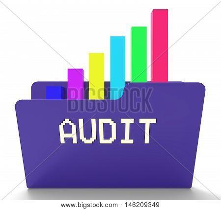 Audit File Indicates Business Graph 3D Rendering