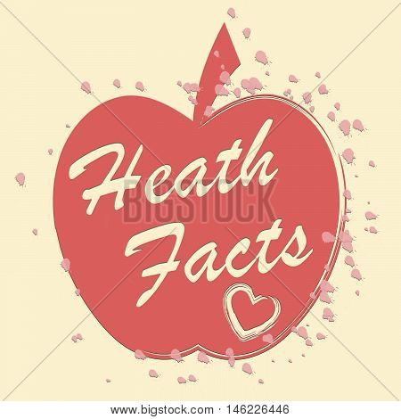 Health Facts Indicates Healthy Information And Care