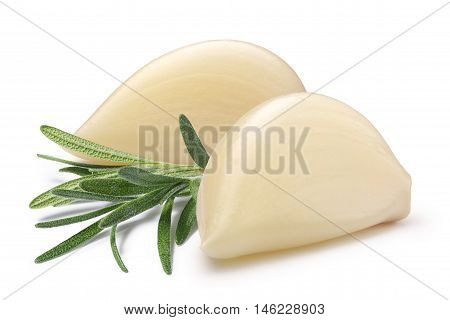 Garlic Cloves With Rosemary, Paths