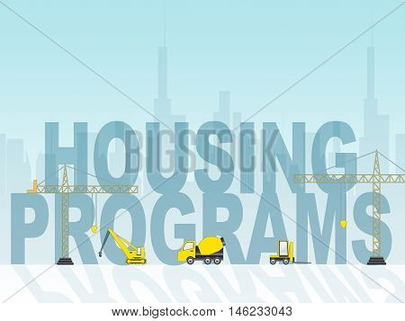 Housing Programs Means Home Or Property Plan