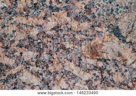 Texture of natural red and gray granite rock stone