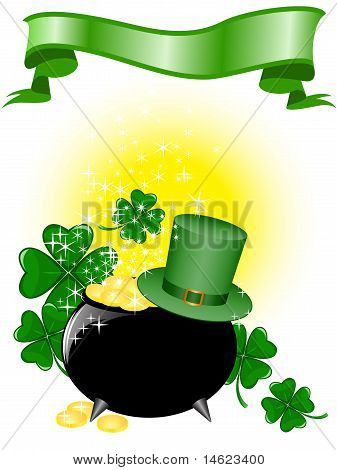 Pot Of Gold And A Hat