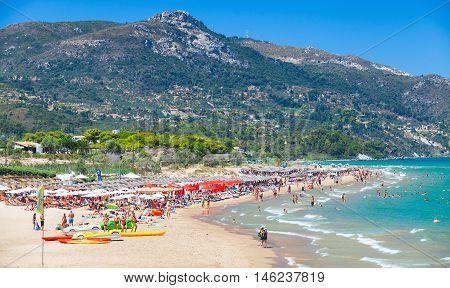 Zakynthos, Greece. Banana Beach