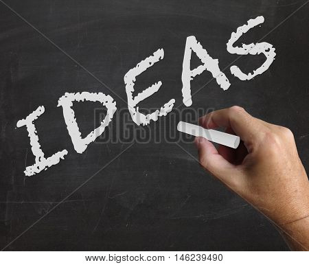 Ideas Word Means Concepts Plans And Innovation