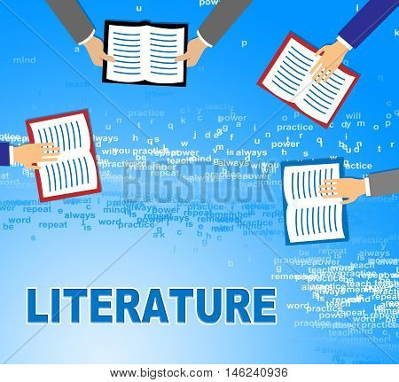 Literature Books Means Literary Texts And Writings