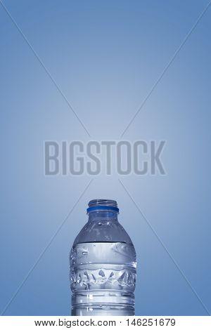 Half Plastic Water Bottle (pet)