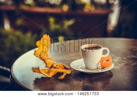 Turkish Coffee  With Leafe 1