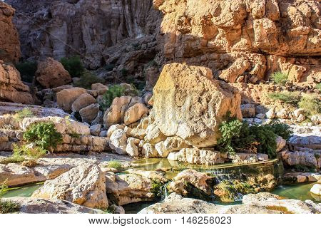 Wadi Shab In Oman