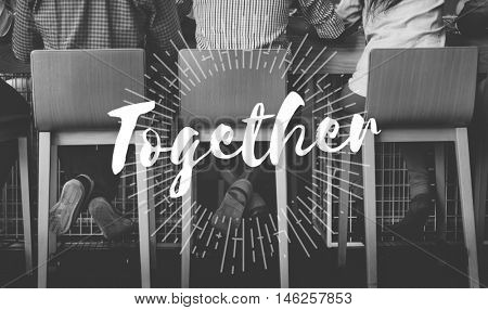 Together Community Family Friends Society Team Concept