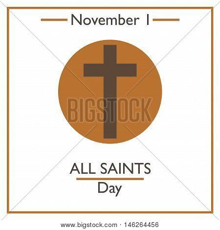 All Saints Day. November 1