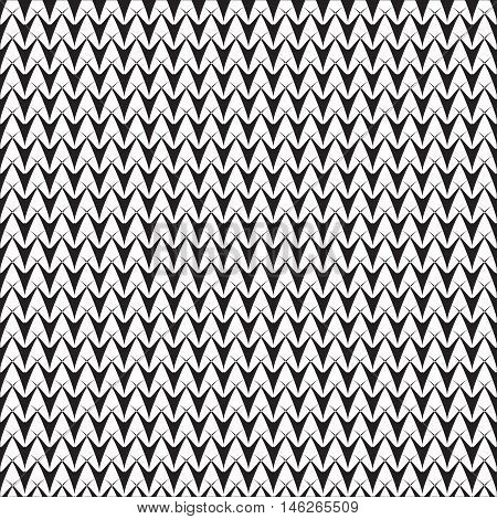 Classic monochrome art. Endless abstract pattern. Geometric simple seamless backdrop. Modern repeating decor. Graphic minimalist elegant sample. Vector.