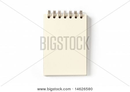 Note pad or sketch book