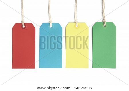 Price or luggage tags