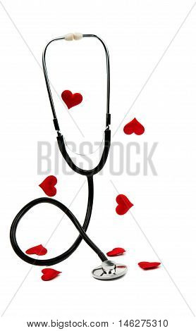 medical instrument stethoscope heart, heartbeat, high, hospital