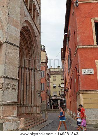 Battistero Di Parma, In Emilia-romagna. Italy.
