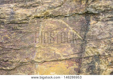 stone texture background Brown and gray surface