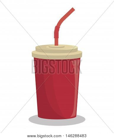 soda beverage drink isolated vector illustration eps 10