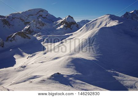 Untouched Snow Fields