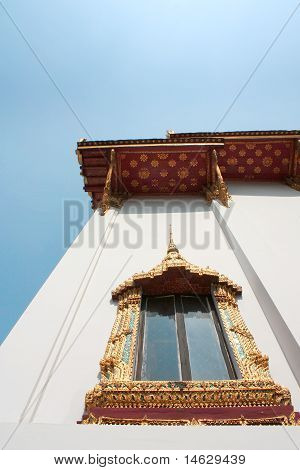 Thai Temple Window