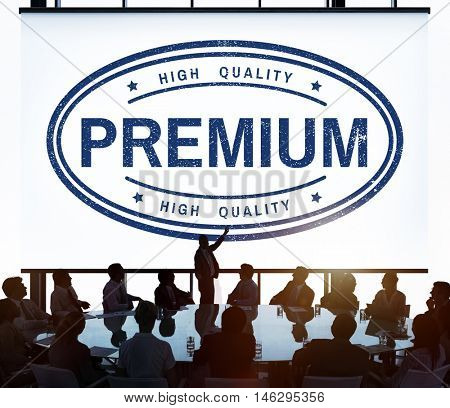 High Quality Premium Limited Value Graphic Concept