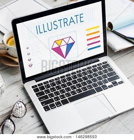 Design Style Graphic Creativity Ideas Illustration Concept