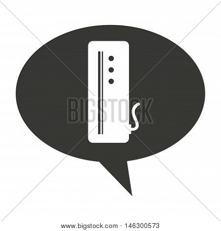 video game console isolated icon vector illustration design