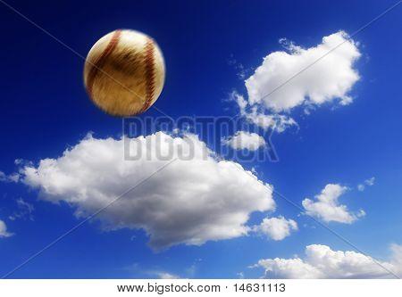 Baseball In Air