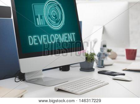 Technology Digital Innovation Futuristic Advanced Concept
